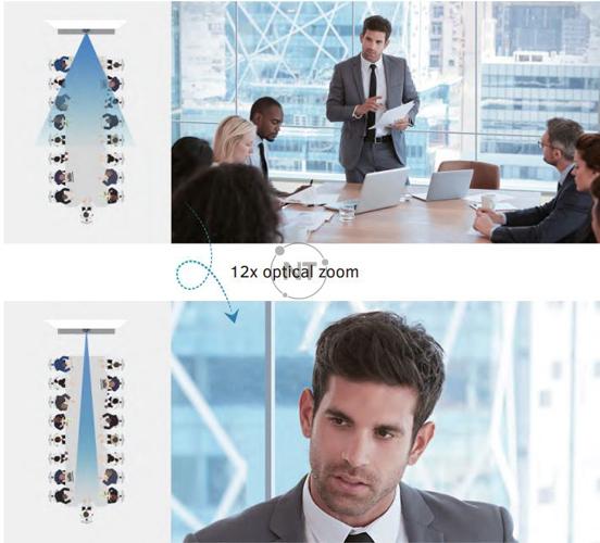 Zoom quang học 12x & Zoom kỹ thuật số 16x, cho chất lượng hình ảnh vượt trội ở mọi nơi