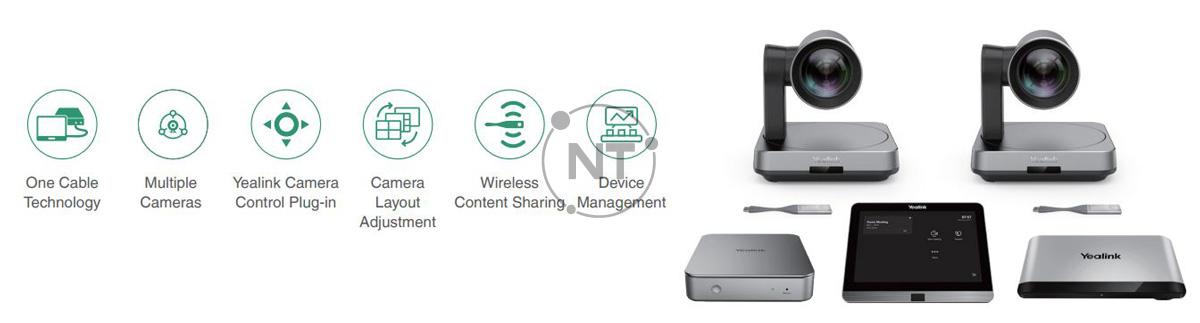 Yealink MVC940 - Hệ thống phòng Microsoft Teams cho phòng họp cực lớn