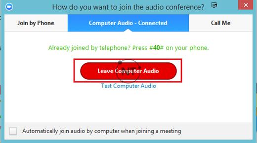 Khắc phục lỗi âm thanh bị vọng tiếng trong cuộc họp Zoom