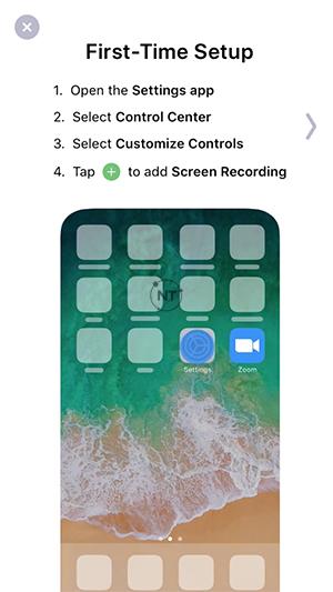 Cách chia sẻ màn hình trong cuộc họp zoom trên iOS