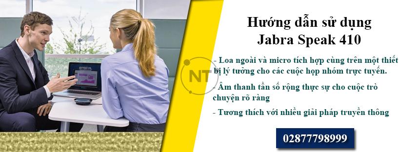 Hướng dẫn cách sử dụng Jabra Speak 410