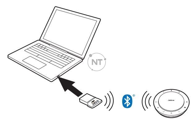 Kết nối với máy tính (bộ điều hợp Bluetooth)