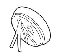 Giá để bàn và bộ điều hợp Bluetooth