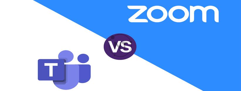 Nên lựa chọn phần mềm Zoom hay Microsoft team
