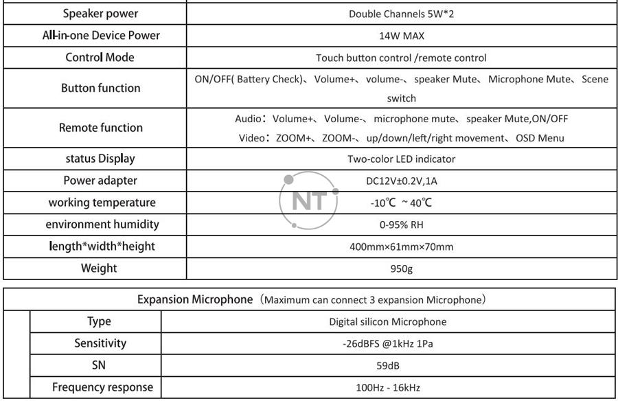 Đặc điểm kỹ thuật Oneking KS-V3B-U3H/ KS-V3B-U3L