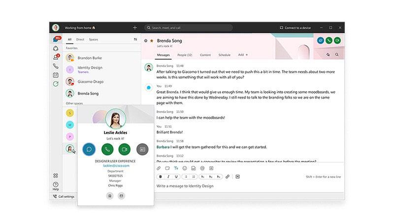 Cisco webex meeting - Ứng dụng họp trực tuyến tốt nhất