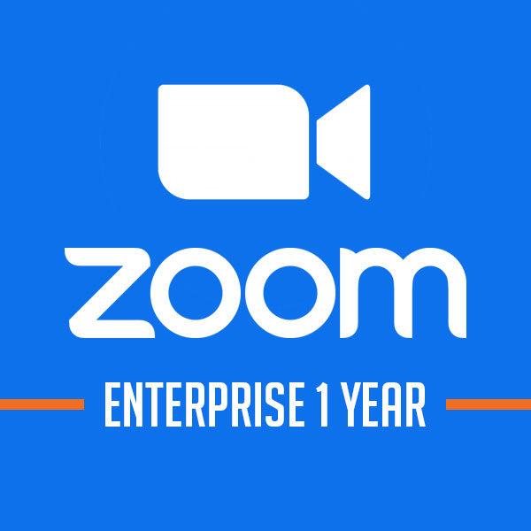 Phần mềm họp hội nghị Zoom Enterprise [Gói 1 năm]