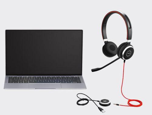 Cách kết nối Jabra Evolve 40 Stereo/ Mono