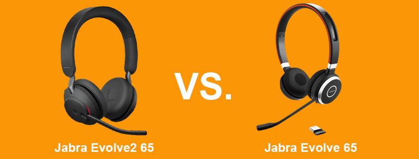 So sánh tai nghe Jabra Evolve2 65 vs Evolve 65