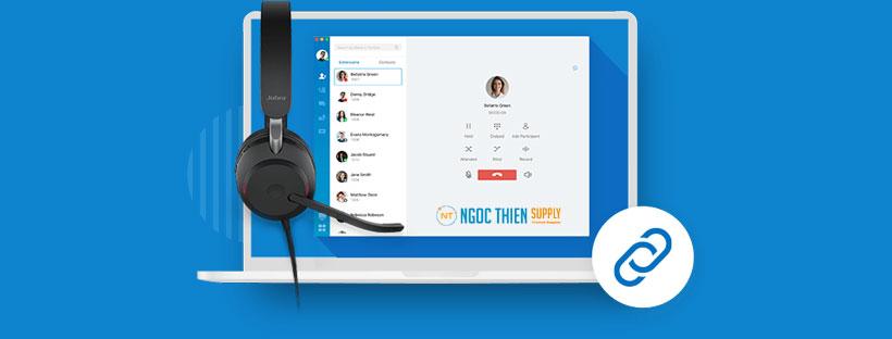 Tích hợp tai nghe và loa Jabra với Linkus Desktop Client