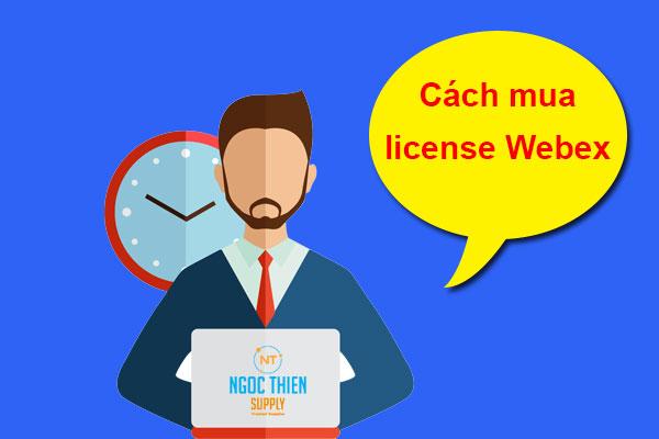 Mua license Webex