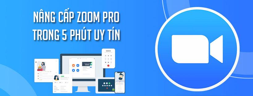 Nâng cấp Zoom Pro trong 5 phút uy tín