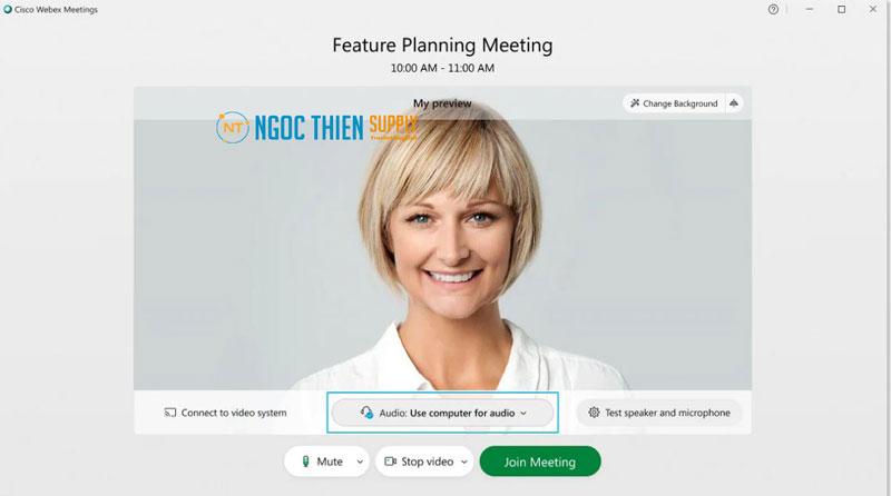 Cách tham gia cuộc họp Webex