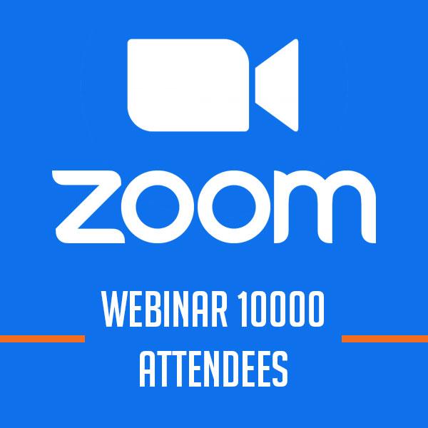 Zoom Webinar 10000 Attendees [1 năm]
