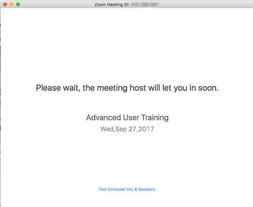 Đặt một người tham gia vào phòng chờ trong các cuộc họp Zoom của bạn