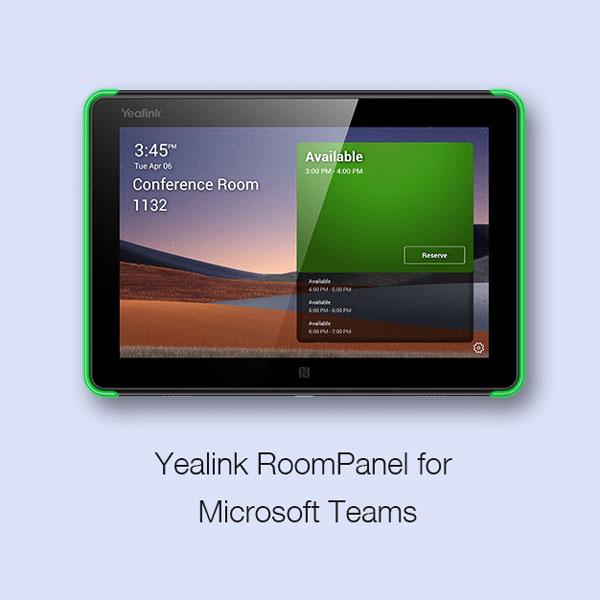 Yealink RoomPanel cho Microsoft Teams