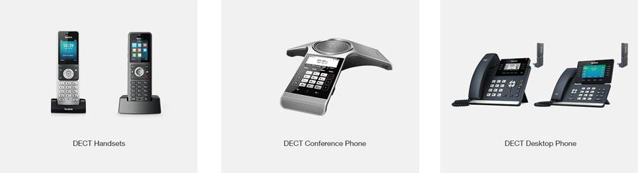 Yealink cung cấp đầy đủ các giải pháp thiết bị DECT