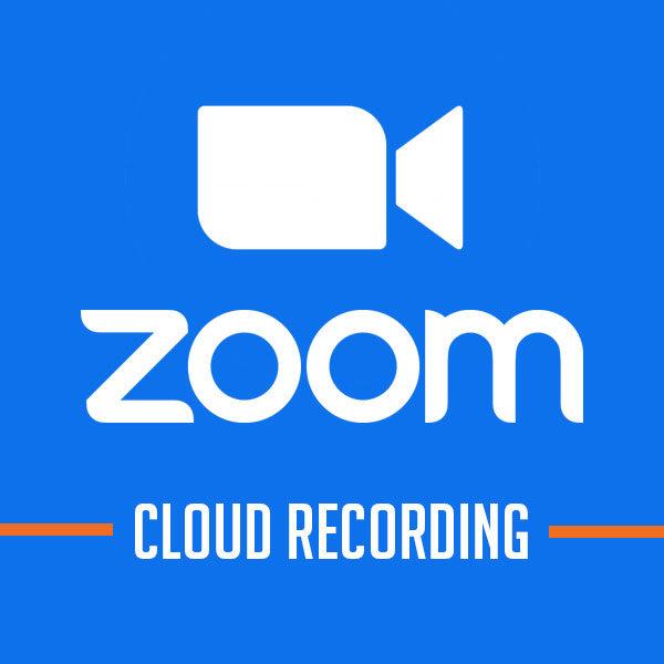 Zoom Cloud Recording (Mở rộng lưu trữ đám mây)