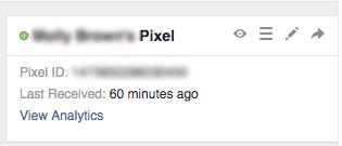 Để kiểm tra xem nó đã được thiết lập thành công chưa, hãy truy cập Pixel Manager của bạn trên Facebook. Nó sẽ hiển thị pixel là đang hoạt động.