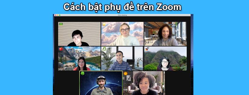 Cách bật phụ đề trên Zoom