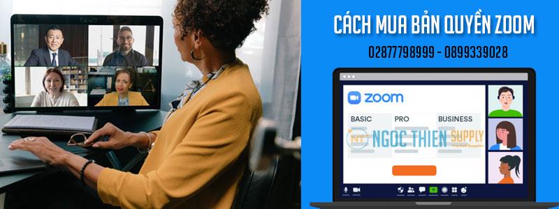 Cách mua bản quyền zoom