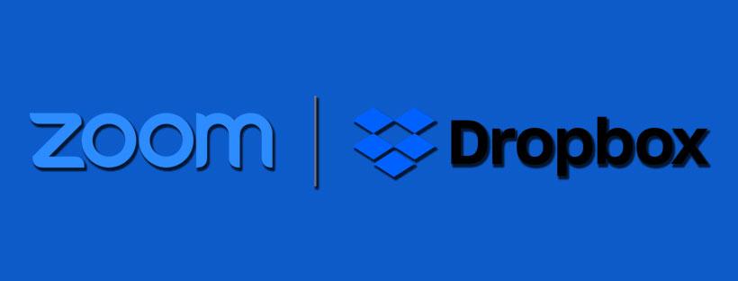 Cách sử dụng Zoom từ Dropbox