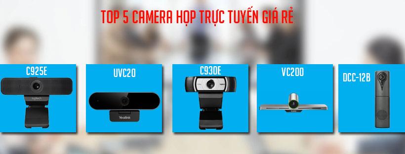 Top 5 camera họp trực tuyến giá rẻ