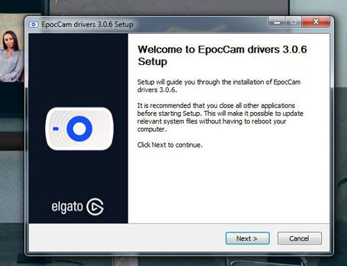 Cài đặt driver Epoc Cam lên máy tính