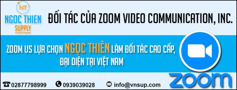 NGỌC THIÊN VINH DỰ TRỞ THÀNH ĐỐI TÁC ZOOM VIDEO COMMUNICATIONS