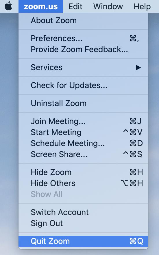 Cách thu nhỏ màn hình Zoom trên máy tính