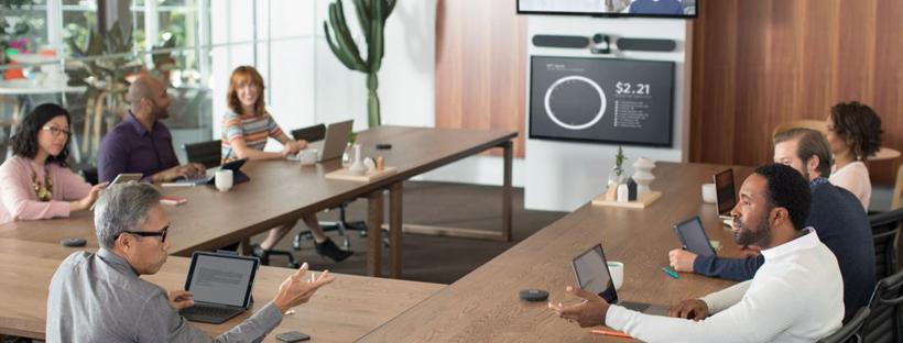 Giải pháp họp trực tuyến Logitech cho phòng họp trung bình 10 - 20 người