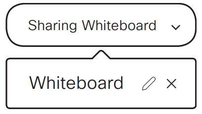 Cách ngừng chia sẻ và lưu bảng trắng
