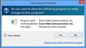 Sử dụng công cụ hỗ trợ từ xa trên Zoom trên Windows