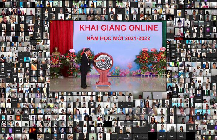 Phương án tổ chức lễ khai giảng online cho năm học mới