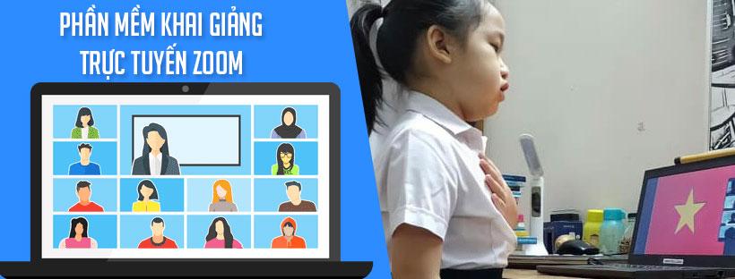 Phần mềm khai giảng trực tuyến Zoom