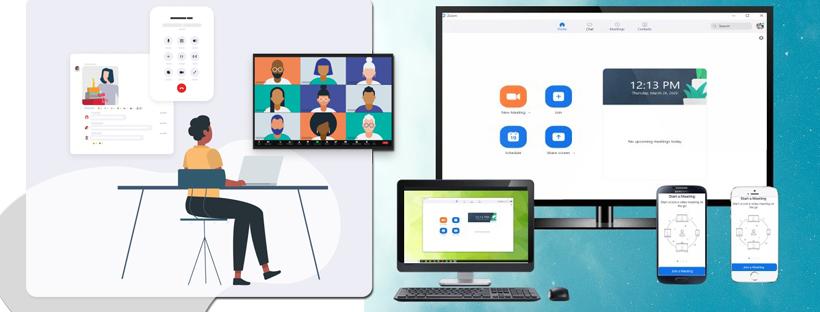 Khởi động ứng dụng Zoom client trên máy tính để bàn