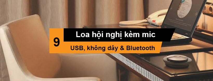 Loa hội nghị kèm mic (USB, không dây & Bluetooth) tốt nhất
