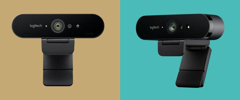 Logitech Brio và 4K Pro - Thiết kế