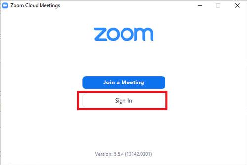 Cách sửa lỗi nhập đúng mật khẩu nhưng không vào được Zoom