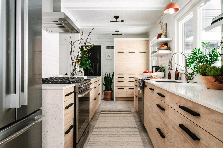 Nền nhà bếp hiện đại