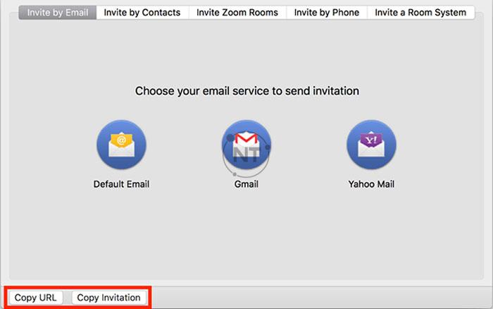 Cách gửi link Zoom cho người khác