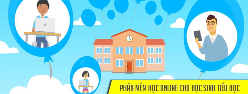 Phần mềm học online cho học sinh Tiểu học