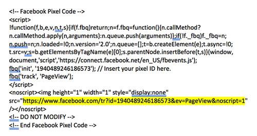 Thêm Facebook Pixel vào Đăng ký hội thảo trên web của bạn