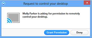 Sử dụng công cụ hỗ trợ remote từ xa trên Zoom trên Windows