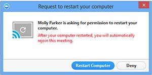 Yêu cầu Khởi động lại Máy tính để nhắc người dùng từ xa khởi động lại máy tính của họ