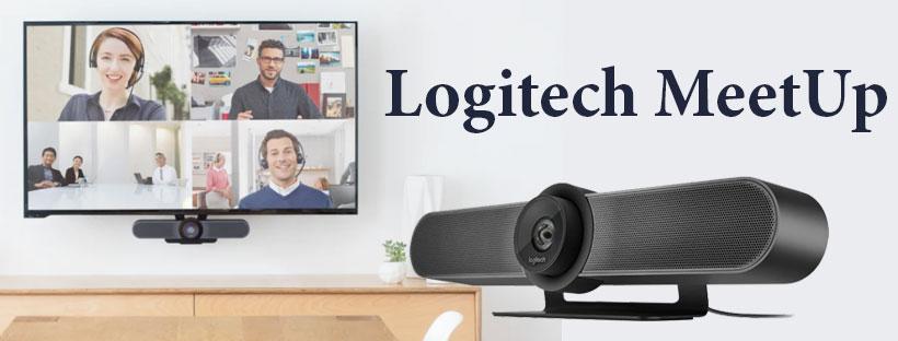 Review chi tiết Logitech MeetUp - Webcam hội nghị cho phòng họp nhỏ từ 5-6 người