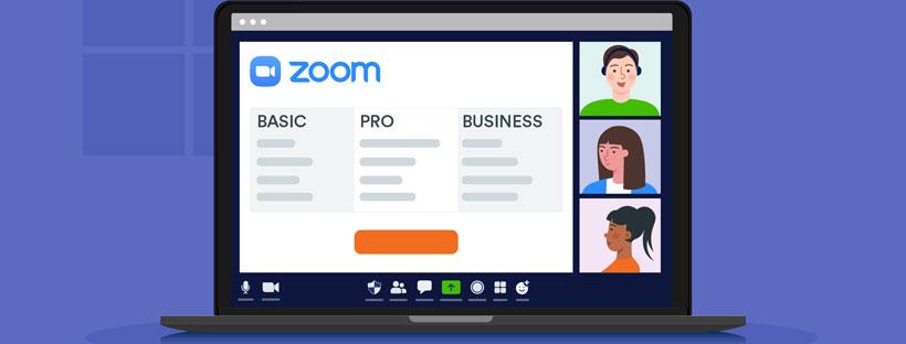 So sánh các gói Zoom