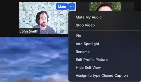 Spotlight trên Zoom