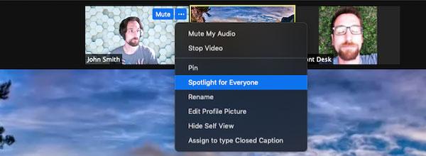 Cách sử dụng Spotlight trên Zoom