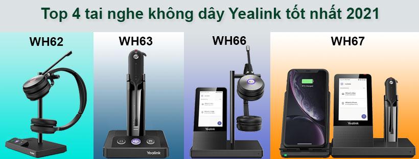Top 4 tai nghe không dây Yealink tốt nhất 2021